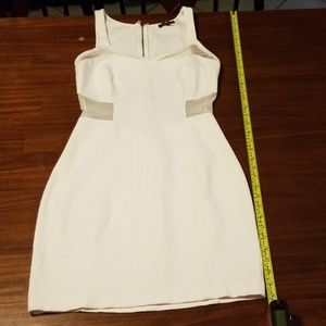 Express White Cut Out Dress Size 6